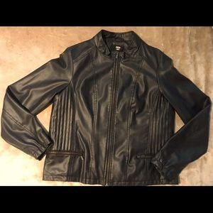 4/$10 Faux Leather Jacket